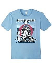 Last Jedi Flock of Porgs Surround R2-D2 T-Shirt