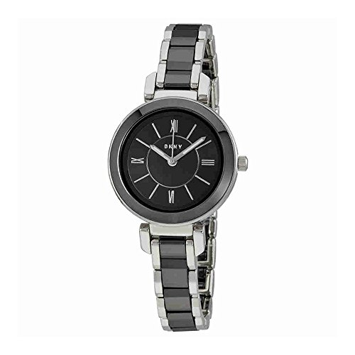 DKNY Women's 'Ellington' Quartz Stainless Steel Casual Watch, Color:Silver-Toned (Model: NY2590)