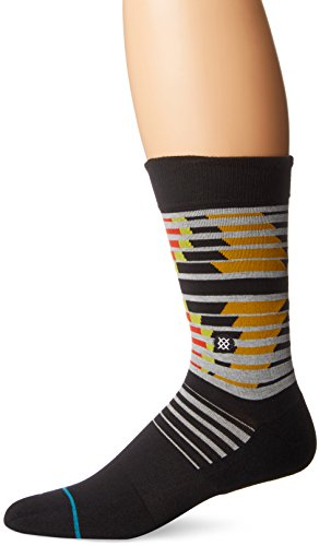 Stance Peacock Geometric Stripe Support