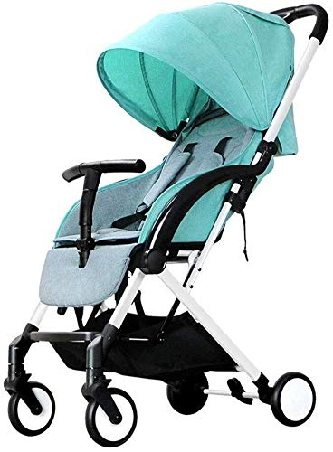 High View Baby Stroller Portable Can Sit Reclining Light Folding Shockproof Baby Child Trolley Travel 0~3 Years Old…