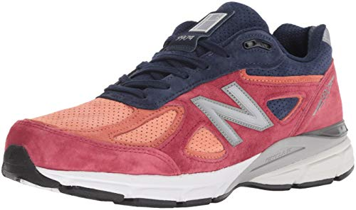 New Balance Men M990NV4 Running Shoe Orange