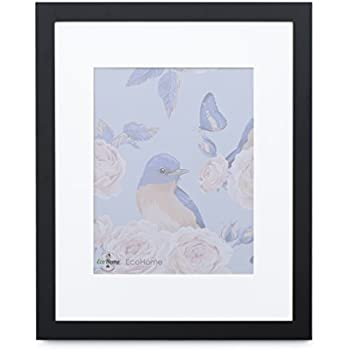 Amazon Com Gallery Solutions 16x22 Black Wood Wall Frame