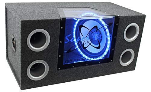 "Pyramid 12""1200W Audio Subwoofer + Mono Amp +Wiring Kit"