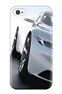 3327702K74687079 New Style 2010 Peugeot Sr1 Concept Car 4 Premium Tpu Cover Case For Iphone 4/4s hjbrhga1544