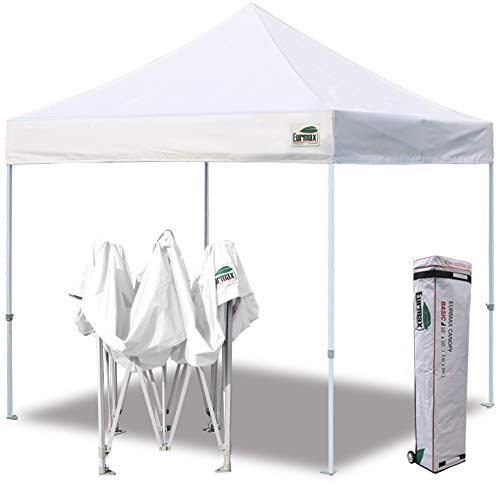 Eurmax 10 x 10 Feet Ez Pop up Canopy Tent Commercial Instant