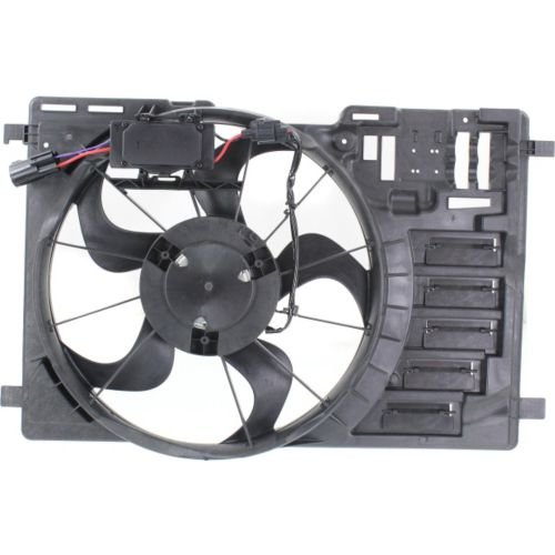 MAPM Premium ESCAPE 13-16 RADIATOR FAN SHROUD ASSEMBLY, 2.0L Eng., Turbo, Single Fan
