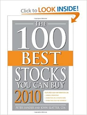 Ilmaisia äänikirjoja verkossa ei ladata The 100 Best Stocks You Can Buy 2010 ePub