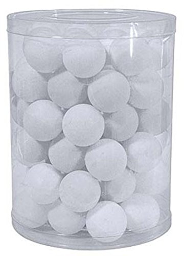 Table Tennis Sports Indoor Playing Practice Ping Pong Ball White Pack Of 44 by Sportsgear US