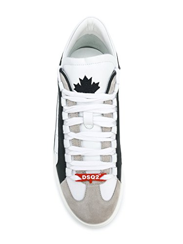 Dsquared2 Herre Snm000611570001m313 Weiss Leder Sneakers jPlSjBGxI