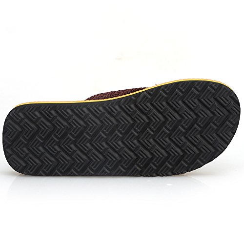 Flip Slipper Handmade Flop Comfortable Indoor 02 Thong Outdoor Beach and Fashion Red Sandals Men's Classical CIOR U4HxTBq