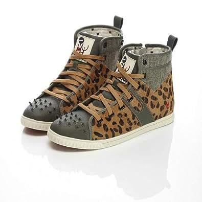 KRUZIN Brown Fashion Sneakers For Women