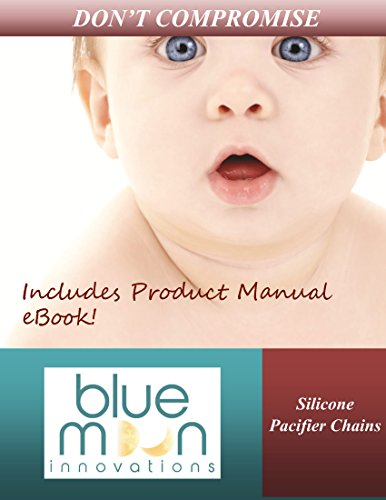 Silicone Pacifier Clips Girls | Set of 2 | BPA-Free | CPSIA Certified | Hand-Crafted Using Food-Grade Silicone Beads | Universal Leash Attaches to Most Pacifiers | Bonus Teething Ring by Blue Moon Innovations (Image #8)