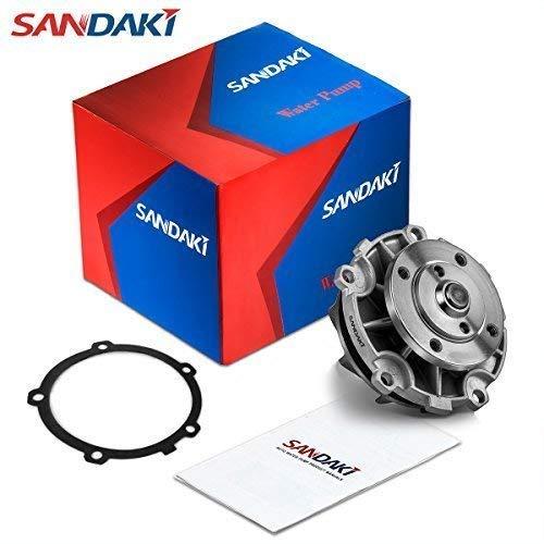 SANDAKI 252-721 Water Pump Kit for Chevy Buick Malibu Pontiac G6 3.1L 3.4L 3.5L V6