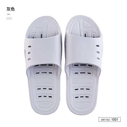 42 Water female summer exposed couple anti stay bath the soft bath 41 in fankou home dry slippers slip slippers cool fast bottom Gray 1CwtdF1q