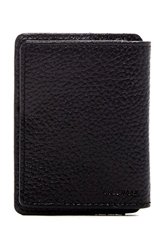 - Cole Haan Pebble Leather Wallet With Id Flap, Money Clip Accessory