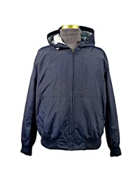 Dockers Men's Dry Touch Hooded Bomber with Printed Lining