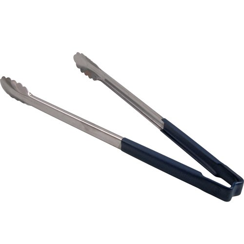 Vollrath 4781630 Kool-Touch Blue Handled 16'' Utility Tong by Vollrath