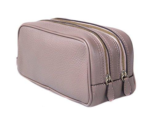SAGEBROWN Taupe Toiletry Bag