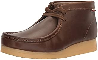 Clarks Men's Stinson Hi Wallabee Boot, Beeswax Leather, 9 M US