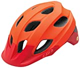 Louis Garneau Raid Adjustable, Lightweight Mountain Bike Helmet with MIPS for Men and Women, Red, Medium