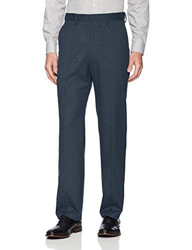 Haggar Men's J.m Premium Deco Classic Fit Suit Separate Pant, Navy, 36Wx32L by Haggar