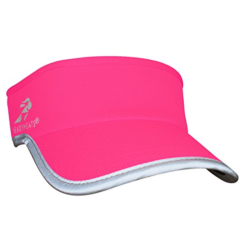 - Headsweats Supervisor High Visibility Neon Pink Reflective