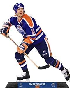 Mark Messier Edmonton Oilers Standz Photo Sculpture