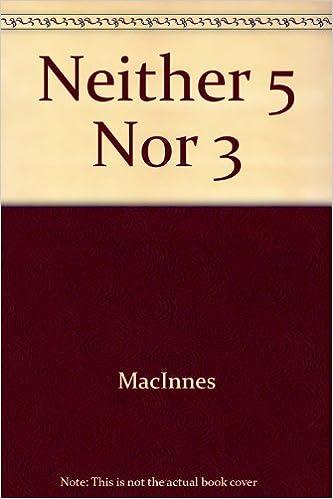 Book Neither Five nor Three by Helen MacInnes (1981-11-12)