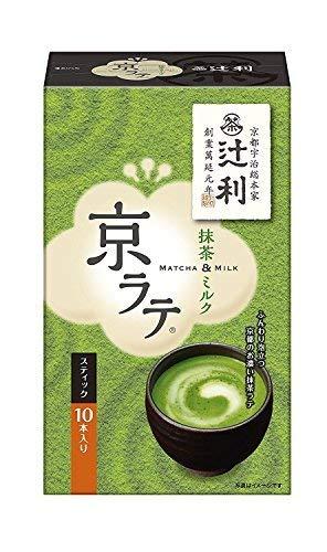 JAPANESE TSUJIRI MATUCYA MILK Powdered green tea milk KYOU RATE 5PX3