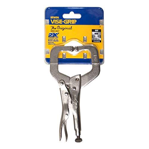 IRWIN Tools VISE-GRIP 6-Inch Locking C-Clamp