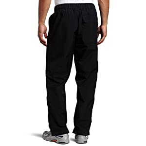 Zero Restriction Men's Featherweight Pant Rain Pant, Black, Large
