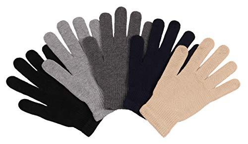 2ND DATE Men's Winter Magic Gloves - ASST-Pack of 12