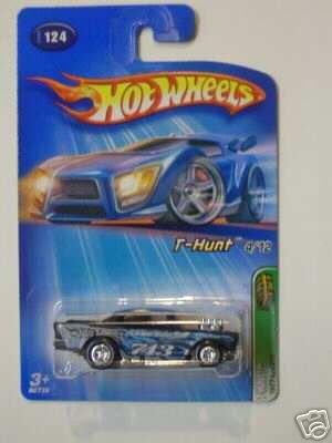 Mattel Hot Wheels 2005 Treasure Hunt 1:64 Scale Black 1957 Chevy 4/12 Die Cast Car #124 ()