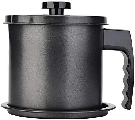Tiamu 1.3L Cocina Dispensador Botella De Olla Lata De Aceite De Cocina Envase con Colador Casa Contenedor De Botellas Herramientas De Almacenamiento De Cocina