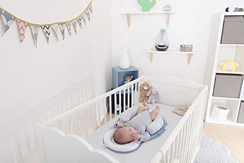 Portable Baby Sleeping Pad with Nursing Pillows Infant Lounger Crib Bassinet Mattress Pad