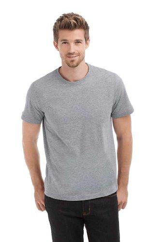 Hanes Men's Crew Neck T-Shirt - Camiseta, con manga corta, con cuello redondo para hombre Grün - Forest green