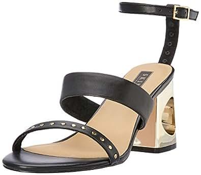 Skin Women's Finery Fashion Sandals, Black, 10 AU (40 EU)