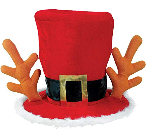 (amscan Mad Hatter Red Hat | Christmas)