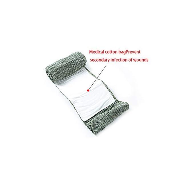 Xiton 1 PC Vendaje De Trauma Israelí Vendaje De Emergencia Herramienta De Primeros Auxilios MéDico CompresióN Venda… 8