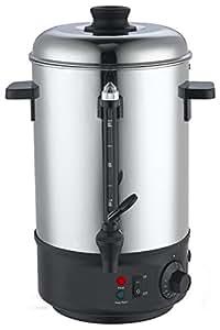 D&S Vetriebs - Olla eléctrica para vino caliente o calentar agua (8,8 l)