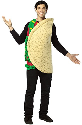 Affordable Costumes (Rasta Imposta Lightweight Taco Costume, Multi-Colored, One Size)