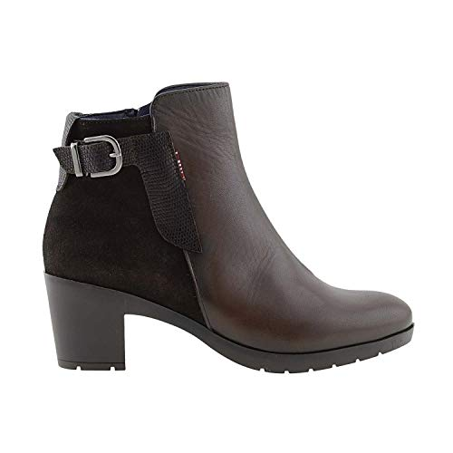 Tolino Paula en Bottines Alonso Marron Cuir 7FxIHWvFwq