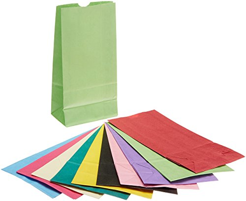 Colored Lunch Bags Paper - 3
