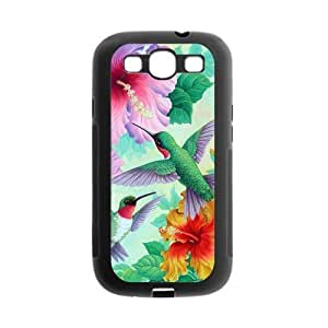 Hummingbird TPU Rubber Case Compatible with Samsung Galaxy S III / S3 i9300 Covers