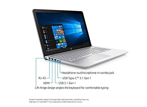 Amazon.com: HP Pavilion 15-cc152od - Core i5 8250U / 1.6 GHz - Win 10 Home 64-bit - 8 GB RAM - 1 TB HDD - DVD-Writer - 15.6 1366 x 768 (HD): Computers & ...
