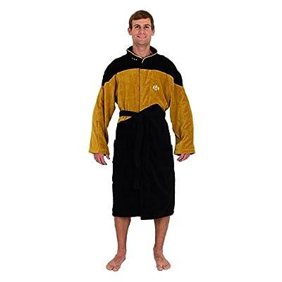 Hot Robe Factory Men's Star Trek NG Red Commander Bathrobe hot sale