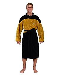 Star Trek The Next Generation TNG Gold Security Costume Bathrobe
