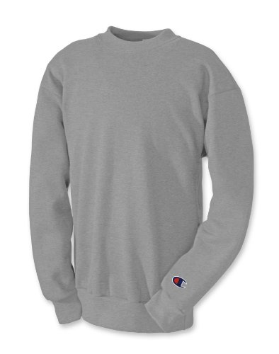 Champion Boys Big Powerblend Eco Fleece Sweatshirt, Light Steel, XL ()