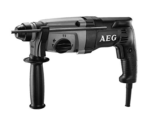 (AEG 7 Amp Electric 1 In. Pistol Grip Rotary Hammer Drill - ABH-26 (Renewed))