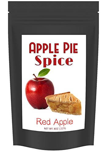 Apple Pie Spice (8 oz), Hand Blended Mixture of Baking Spices for Apple Pies, Desserts and Dishes